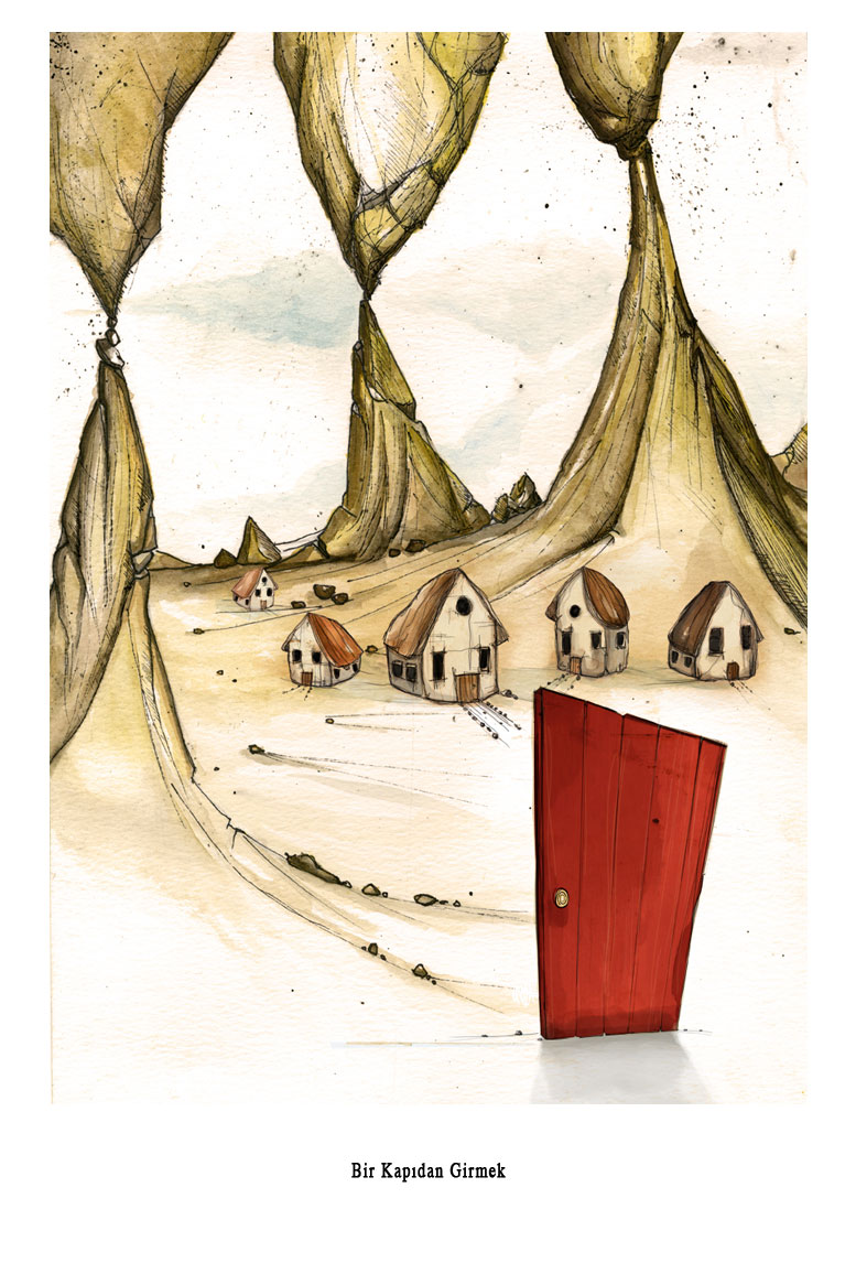 Bir Kapıdan Girmek