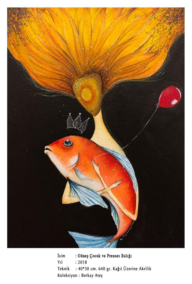 Güneş Çocuk ve Prenses Balığı